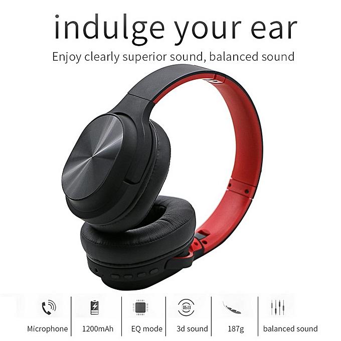 6113b4ba199 Buy Generic Bluetooth Headphones Stereo Wireless Headset Earphones with FM  online | Jumia Ghana