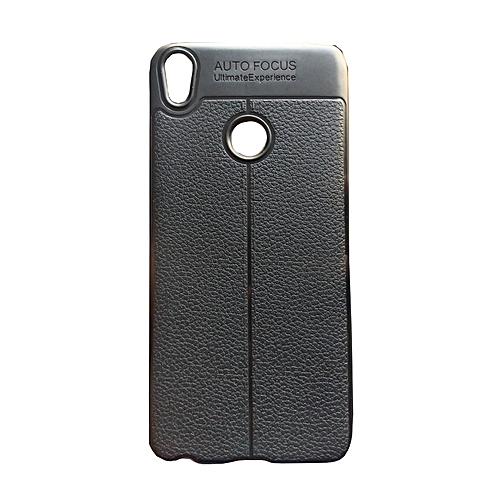 sports shoes 6ce94 70e12 Buy White Label Back Cover Case for Tecno Spark 2 (KA7) - Black ...