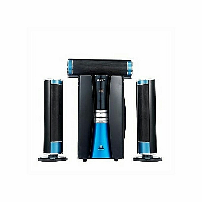 Jerry Power JR-D3 Home Theatre System - Black/Blue