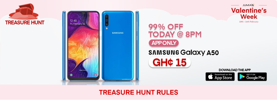 Samsung Galaxy A50 Treasure Hunt