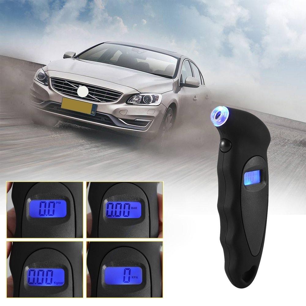 High-Precision Digital Tire Pressure Gauge Measurer Tool Display Tire Monitoring System Diagnostic Tool