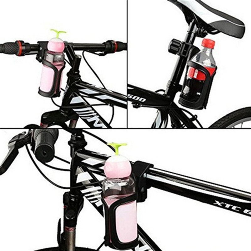 New Bike Cup Holder Cycling Water Bottle Cage Mount Drink Bicycle Handlebar