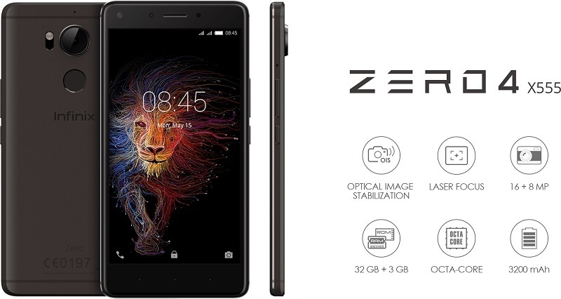 Infinix Zero 4 X555 Specs & Price – 4G Android Phone in Ghana