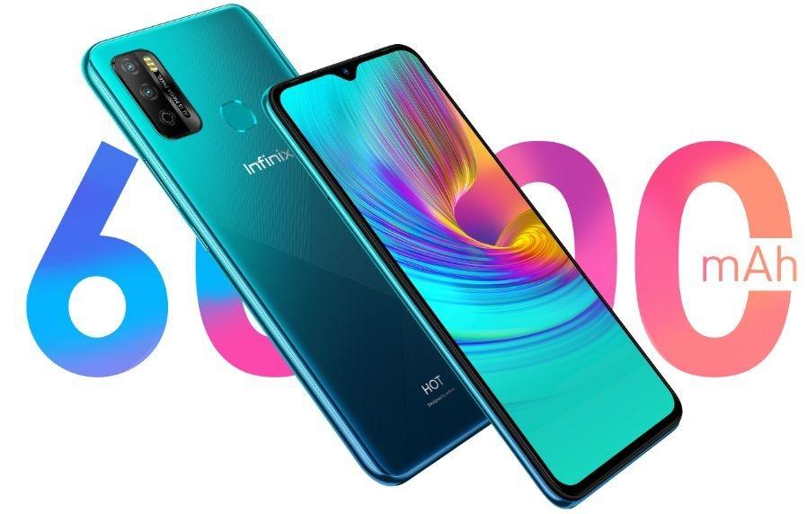 Infinix phone with 6000mAh battery