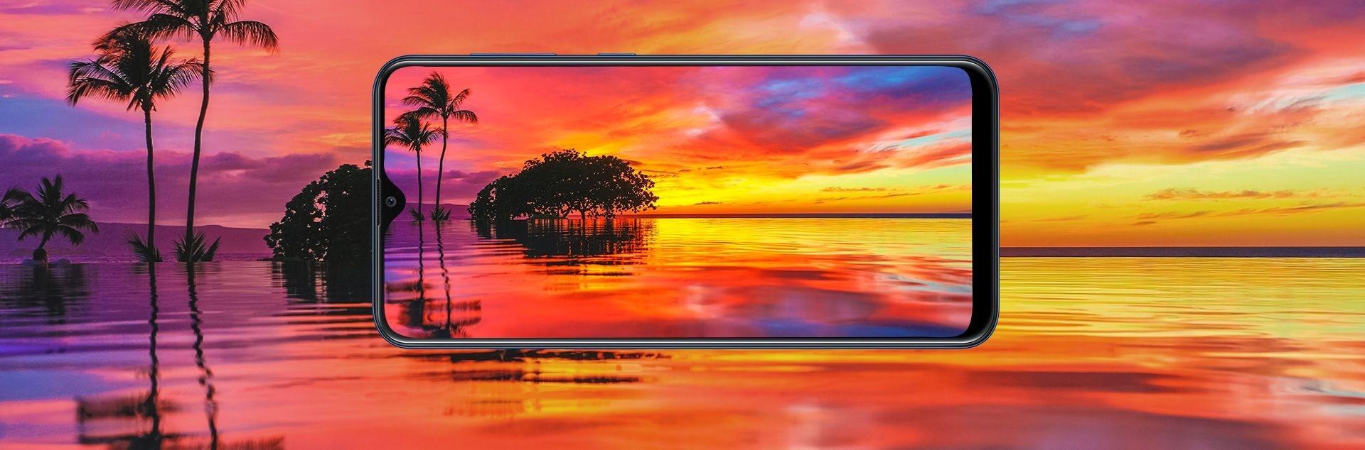 Samsung Galaxy A20 sAMOLED 6.4 inch Infinity-V Display