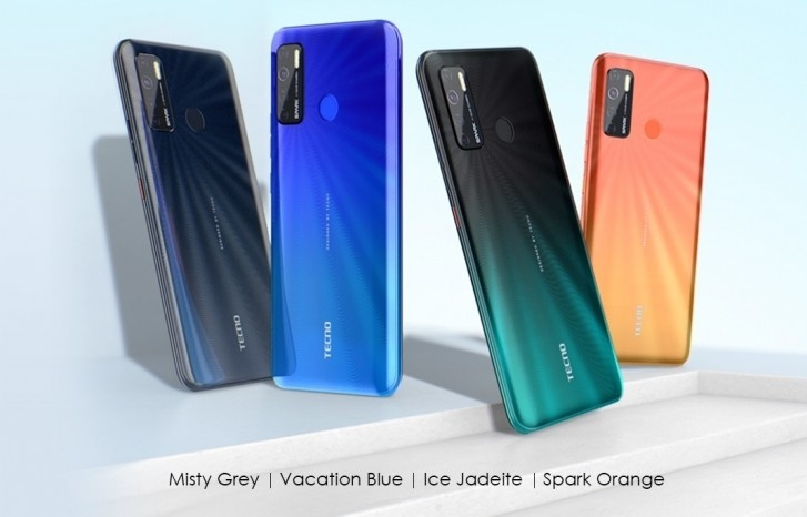 Tecno Spark 5 unveiled with Android 10, 6.6'' screen, quad camera and quad LED flash