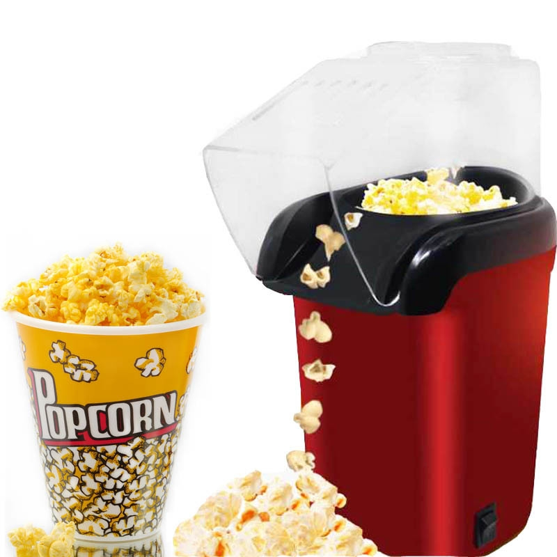 Shop White Label Electric Popcorn Maker - Red Online ...