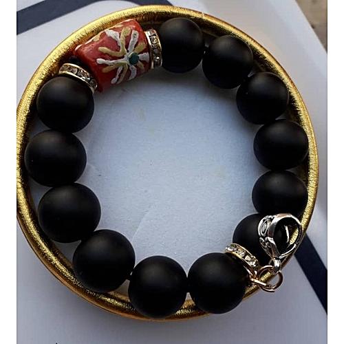 Beaded Bracelet - Black