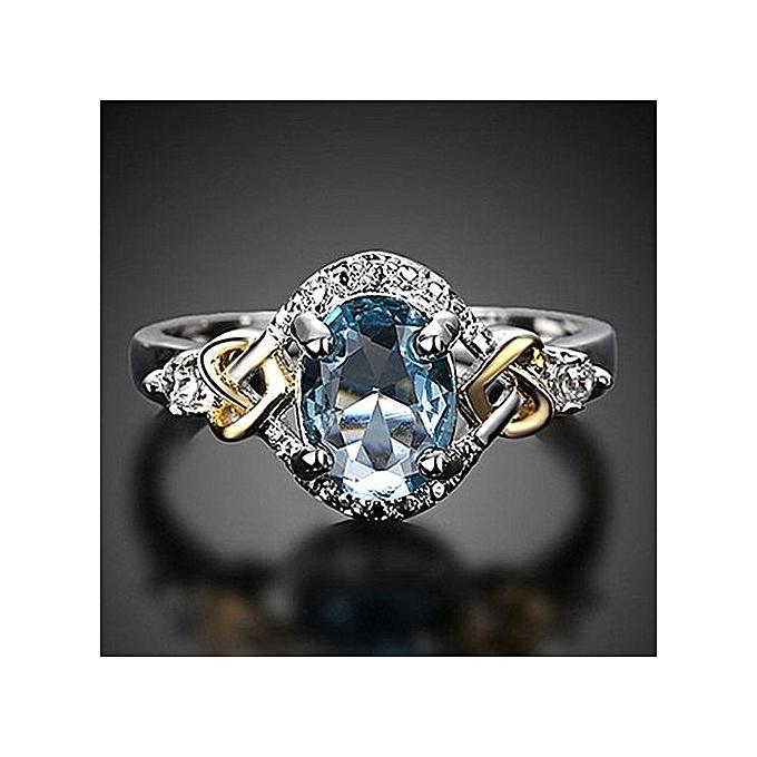Buy Generic Women Wedding Engagement Ring Crystal Jewelry