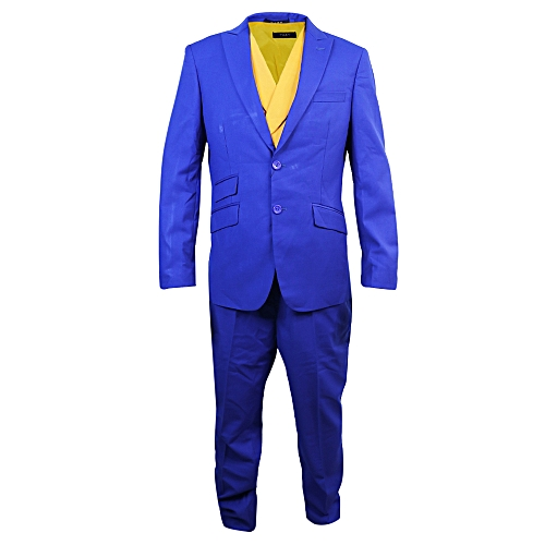 3-Piece Slim Fit Suit - Blue