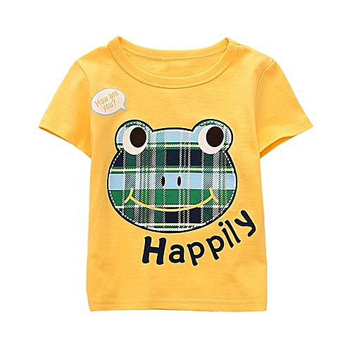 cb4aba477ca9 FASHION Baby Outfit Summer Infant Baby Kids Boys Girls T Shirts ...