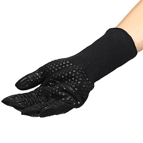 Pot Holder Fire UK BBQ Heat Proof Resistant Glove Mitt for Cooking Baking