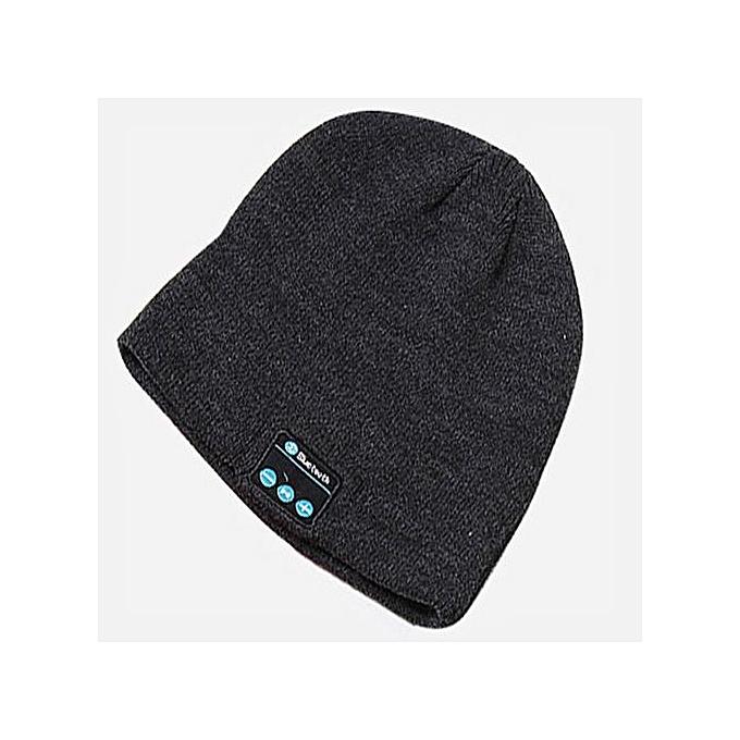 c0430e66ca7 Wireless Bluetooth Headphones Music Hat Smart Caps Headset Earphone Warm Beanies  Winter Hats With Speaker Mic ...