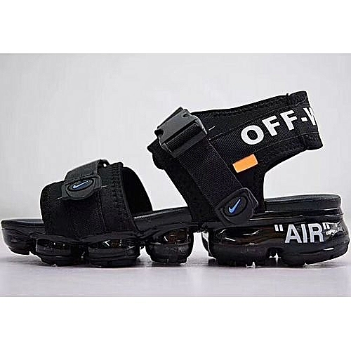 new concept bed92 6f8f3 Buy Nike Air Vapormax Double Strap Sandals - Black online ...