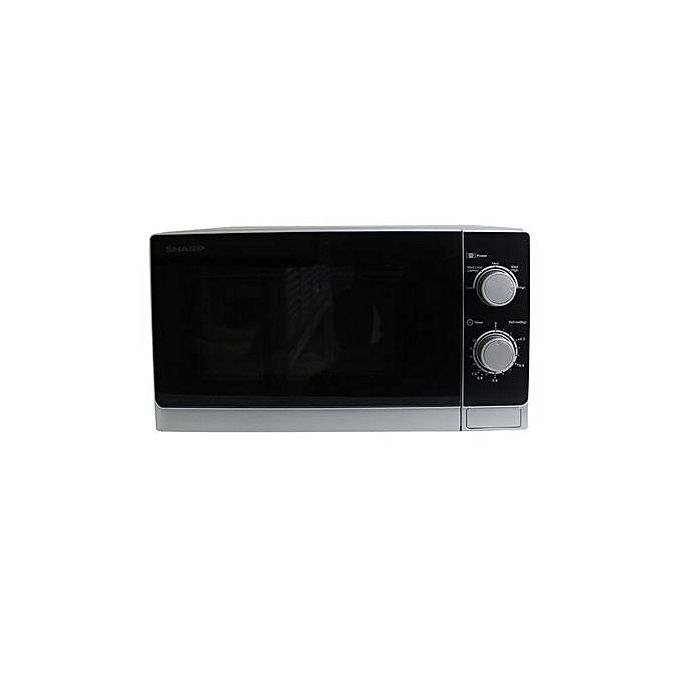 Sharp R-20CT(S) Manual Microwave Oven – 20 Litre Silver