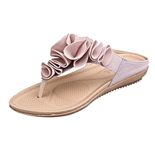 f8759c1d52351 Blicool Shop Women Sandals Women  039 s Summer Beach Flip Flops Casual Flat  Shoes