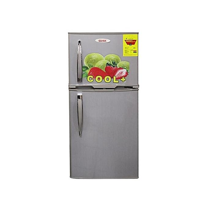 Suzika SZ-18U Double Door Refrigerator – 132 Litre