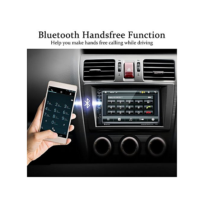 7021G Car MP5 Player 7inch With GPS function