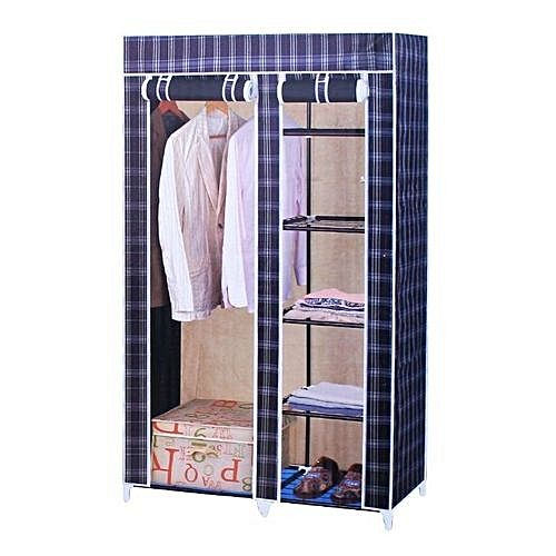 Exceptional Collapsible Wardrobe   Blue