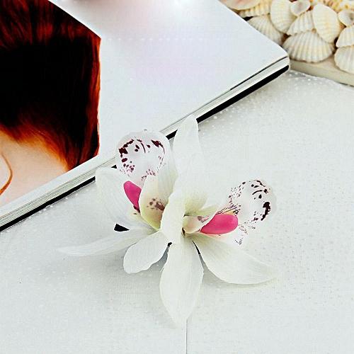 Buy Generic Butterfly Orchid Cloth Bohemia Headdress Beach Flowers