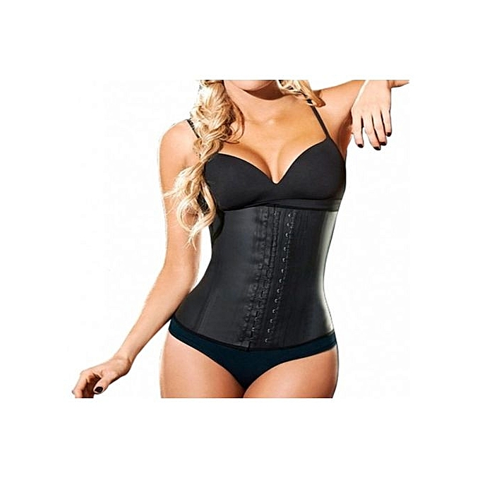 3a05c0436f6 Ann Cherry Latex Waist Trainer - Black
