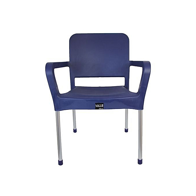 DPS Plastic Executive Chair - Dark Blue