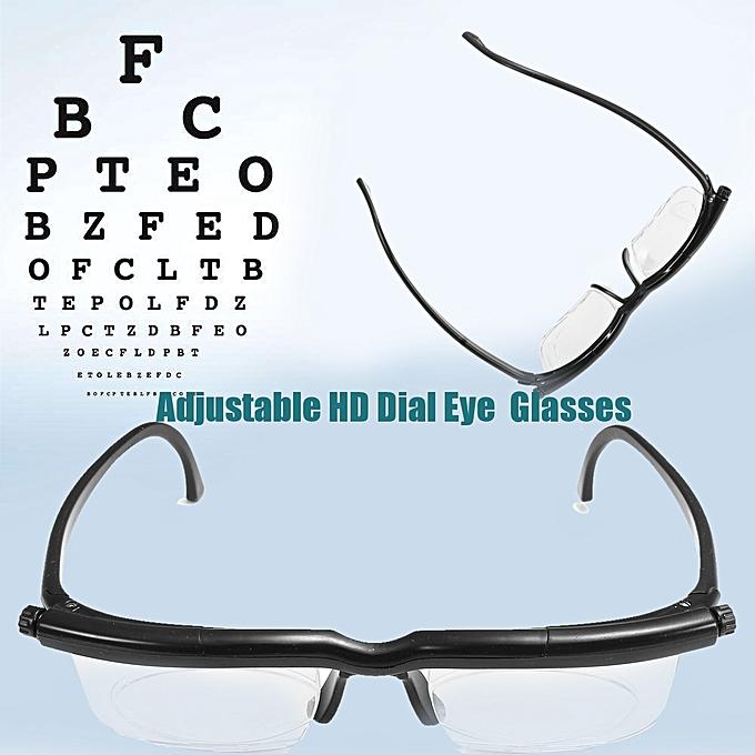 2b61cdefe Buy Generic Adjustable HD Dial Eye Glasses Vision Reader Glasses For Adult  Q online   Jumia Ghana