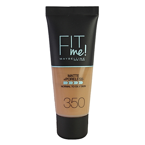 Fit Me Matte And Poreless Foundation 30ml - 350 Caramel