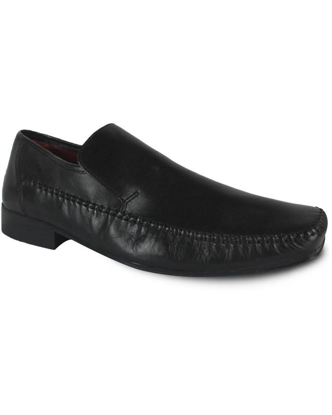 Black Shoes Leather Churches