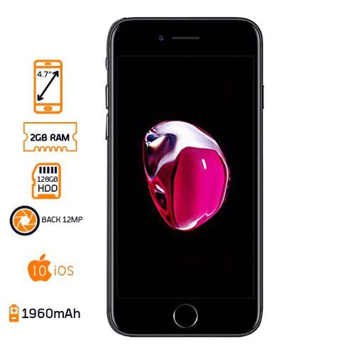 iPhone 7 - 128GB HDD - 2GB RAM - Black
