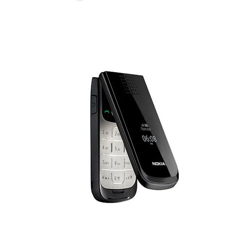 2720 Fold Mobile Phone Bluetooth FM Refurbished Cell Phone(Black)