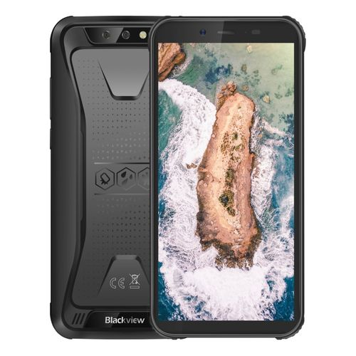 BV5500 Rugged Phone, 2GB+16GB, 5.5 Inch Android 8.1, 4400mAh Battery, 3G Smartphoe - Black
