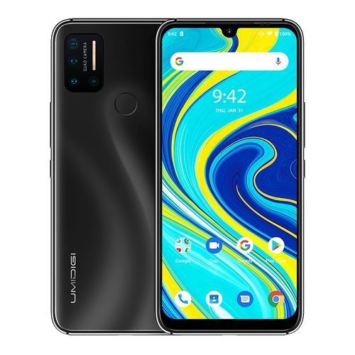A7 Pro, 4GB+64GB, 6.3 Inch Android 10, 4150mAh Battery, 4G Smartphone - Black