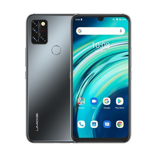 A9 Pro, 4GB+64GB, 6.3 Inch Android 10, 4G Smartphone - Black