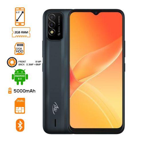 P37 Dual Sim - 32GB ROM - 2GB RAM Smartphone - Black