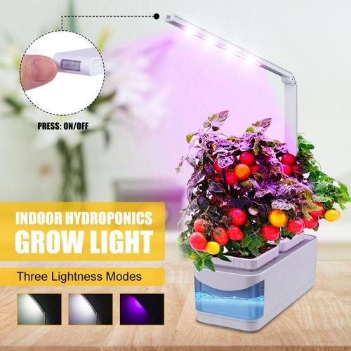 Shop Generic Indoor Herb Adjustable Hydroponic Garden Flower Grow Lamp Kit Planting Light Pot With Yellow Visible Window Uk Plug Uk Plug Online Jumia Ghana