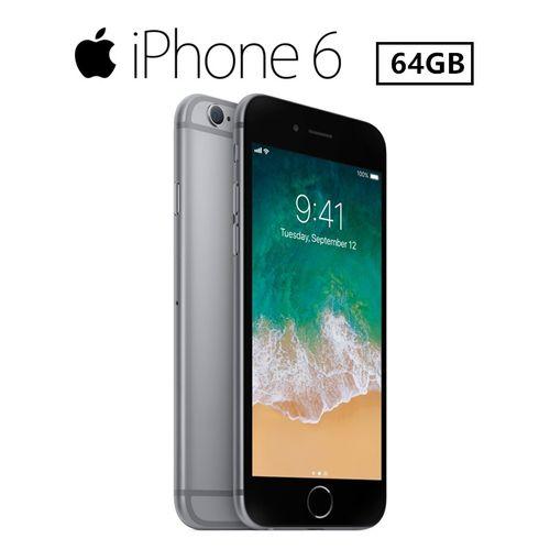 IPhone 6 4.7 Inch (1GB+64GB) 8MP+1.2MP With Fingerprint Smartphone (Rfubr)-Grey