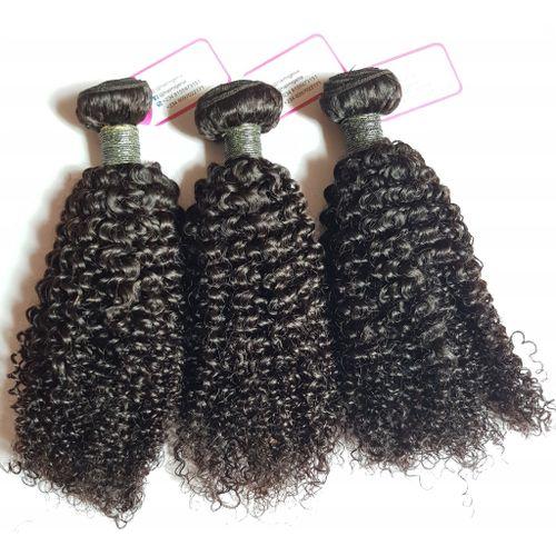"""Pure Virgin Carribean Curls Human Hair - 3 Piece - 16"""" - Natural Black"""