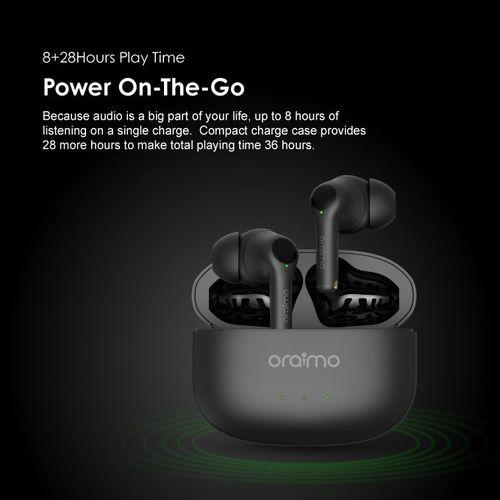 FreePods 3 OEB- E104D True Wireless Stereo Earbuds -Black