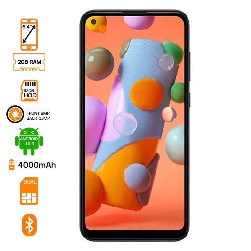 Galaxy A11 Dual SIM 4G LTE - 32GB HDD - 2GB RAM - Black
