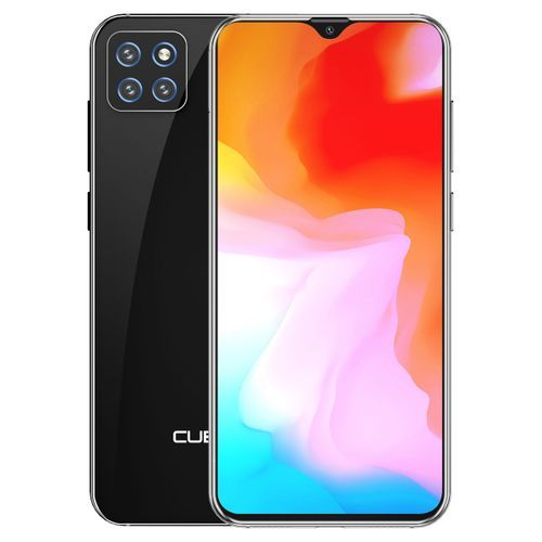 """X20 Pro - 6.3"""" Waterdrop Screen (6GB, 128GB ROM) 125° Wide Angle AI Triple Camera Android 9.0 4G Smartphone - Black"""