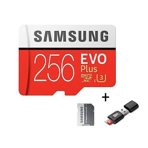 Micro SD Memory Card - 256GB - Multicolor