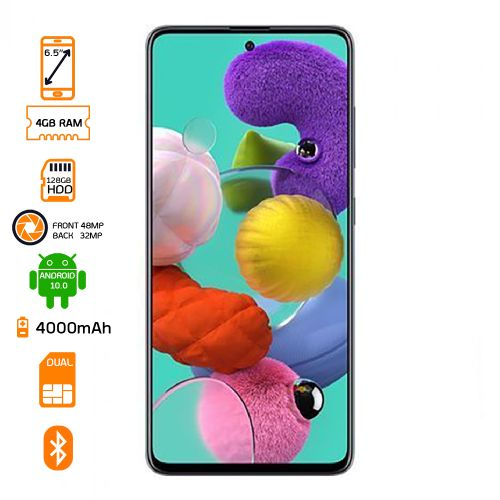 Galaxy A51 128GB HDD – 4GB Ram - Prism Crush Black