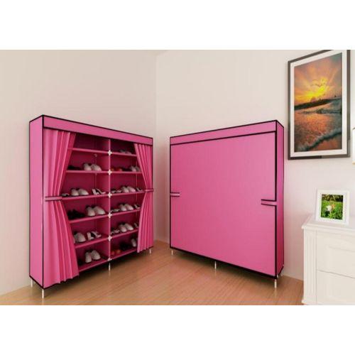 12 Tier Shoe Rack - Pink