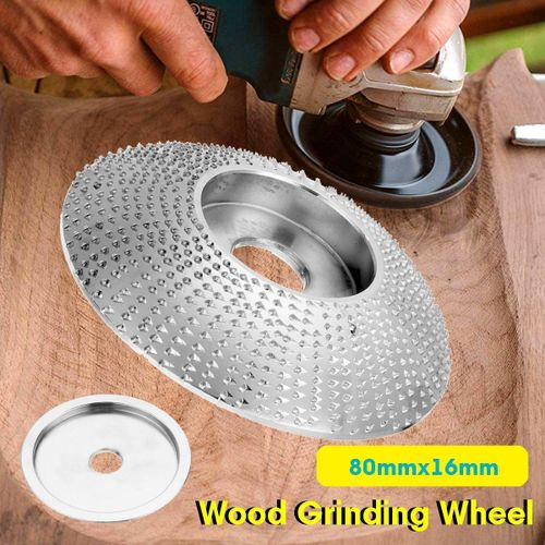 Extreme Shaping Disc 16Mm Bore Tungsten Carbide Carving Disc Grinder Disc Angle Grinder Woodworking Tool