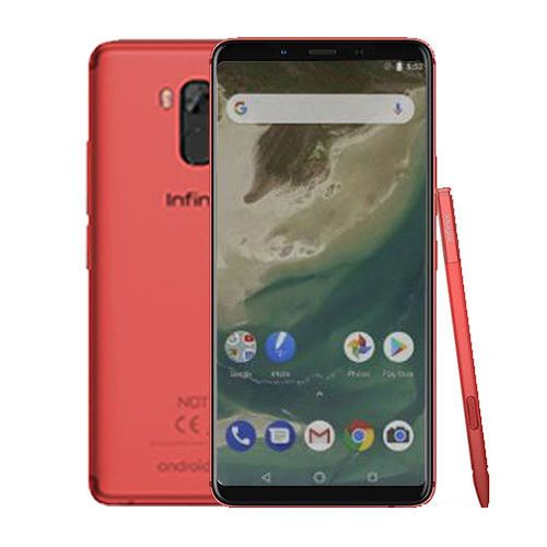 X605 Note 5 Stylus 4G Dual SIM - 32GB HDD - 4GB RAM - Red FS