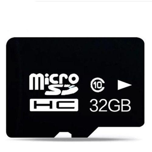 SDHC Memory Card - 32GB Black