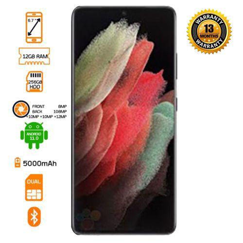 Galaxy S21 Ultra - 128GB HDD - 12GB RAM - 5G Smartphone - Black - Preorder