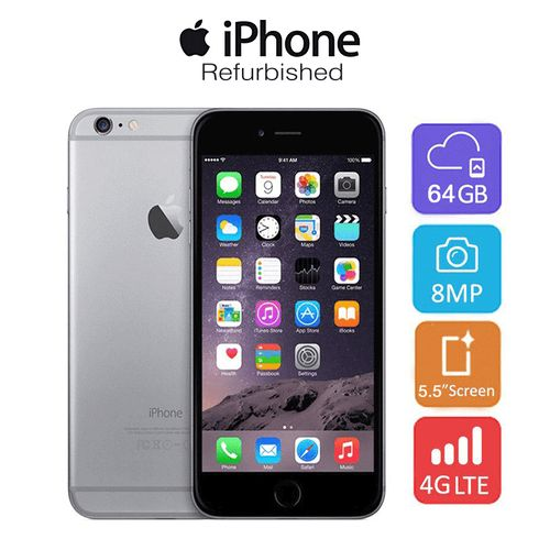 iPhone 6 Plus - 64GB HDD - 1 GB RAM - Refurbished - Grey