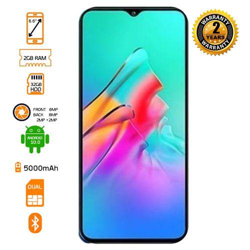 X657 Smart 5 Dual SIM Smartphone - 32GB HDD - 2GB RAM -Ocean Wave